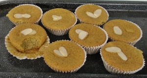Muffins harina batata 4