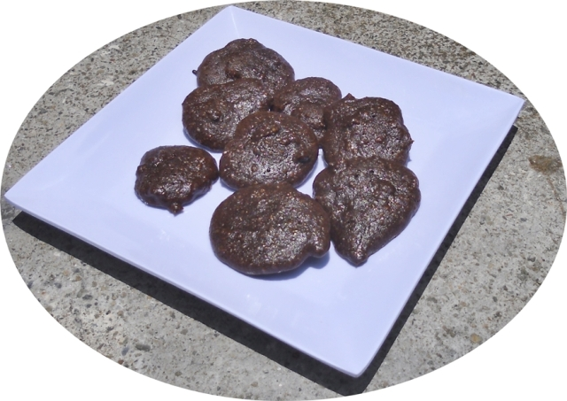 Galletas chocolate y almendras 5