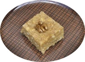 Torta de galletas, leche condensada y nueces 3