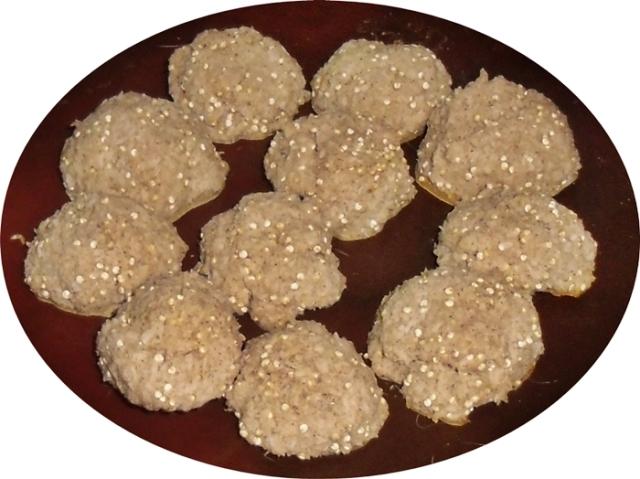 Galletas coco y quinoa