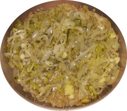 Quinua con cebollas varias 2