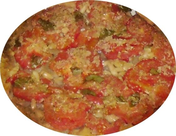 Tarta Tatin de tomates de Arrels
