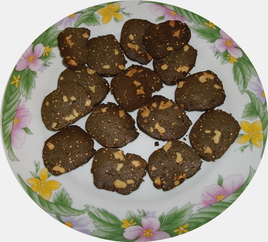 Galletas chocolate y nueces 2ª serie