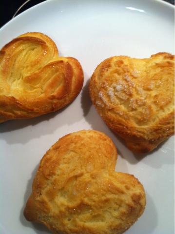 Pan de levadura forma corazon 3