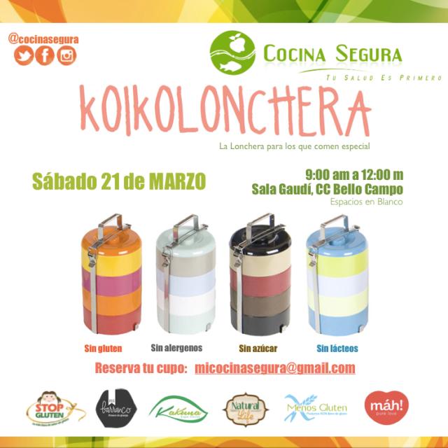 KOIKO lonchera  21 marzo