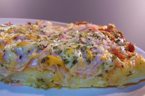 Para la receta de pizza de FAMALAP